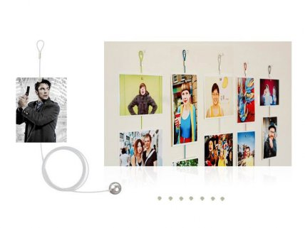 1.2m Magnetic Cable Photo/Card Holder