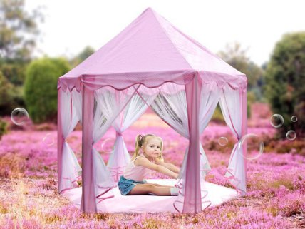 Princes Play Tent--Pink