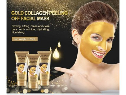 Mond'sub Gold Collagen Peeling Off Facial Mask