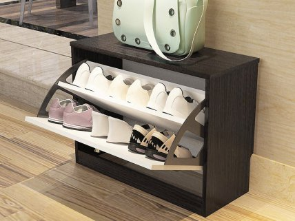 Single Drawer Shoe Cabinet