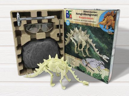 Dino Excavation Dig Kit Stegosaurus