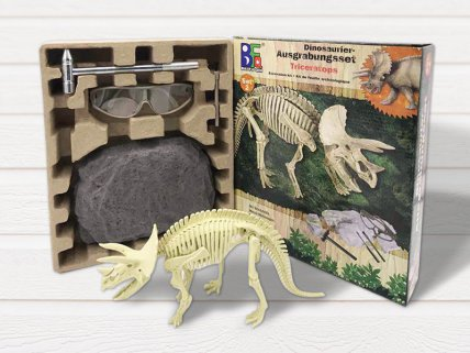 Dino Excavation Toy - Triceratops