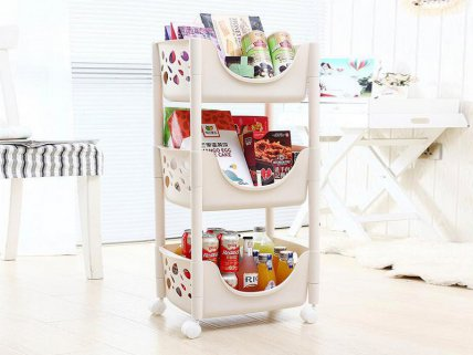 3 Tier Multifunctional Trolley
