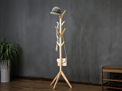 Modern Wooden Coat Stand