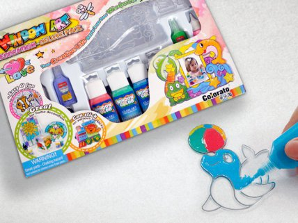 Stain Glass Non Toxic Painting kit