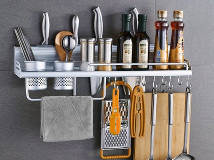 Wall Mounted Kitchen Shelf