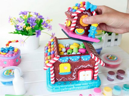 DIY Candy House For Kids