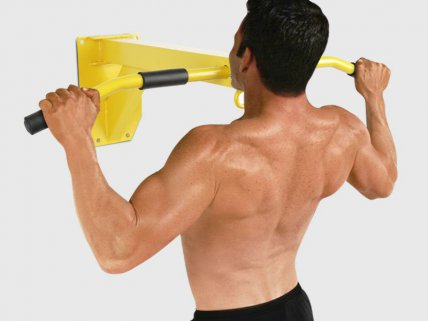 Chin Up Bar & Sand Bag Hanger