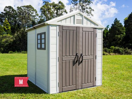 Plastic Garden Shed - Medium