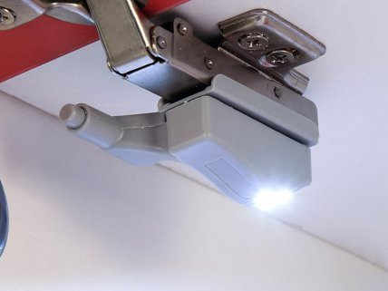 5pc LED Sensor Hinge Light