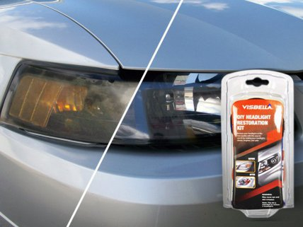 Headlight Restoration Tools Kit