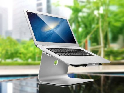 Portable Aluminium Laptop Stand
