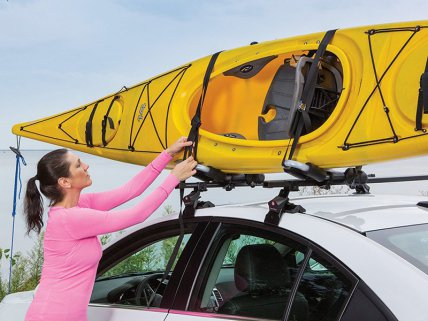 2Pc Folding Kayak Carrier Roof Rack