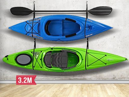 Heavy Duty Kayak Hoist Wall Sling 3.2M