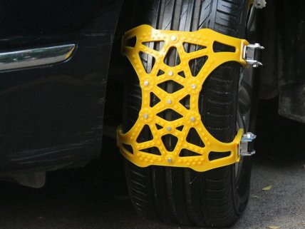 6Pc Anti-Skid Tyre Snow Chains