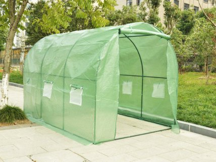 Polytunnel Greenhouse with PE Cover