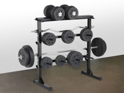 2 Level Dumbbell Rack