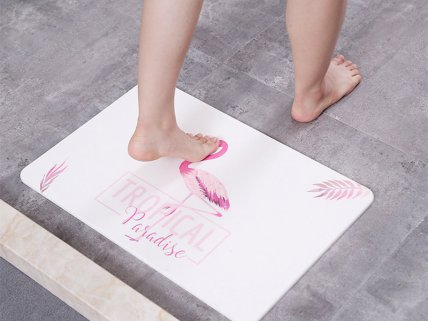 Water-Absorbing Floor Mat