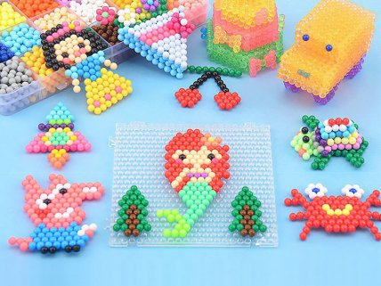 Magic Sticky Beads Art Set