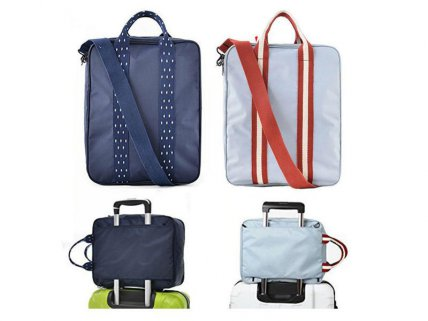 Super-Thick Travel Luggage Organiser- Navy