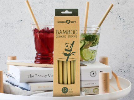 Bamboo Straw - ECO Pack 12PC
