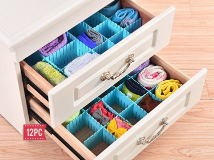 Drawer Clapboard DIY Storage Organizer