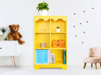 Kids Bookshelf Storage Unit