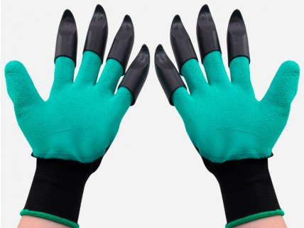 3 Pairs Latex Garden Claws Gloves