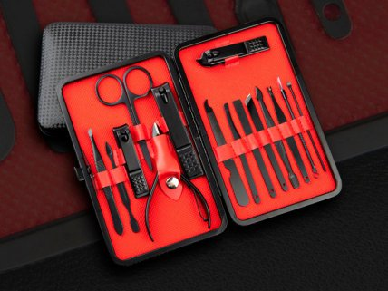 Stainless Pedicure Manicure Set 15pcs