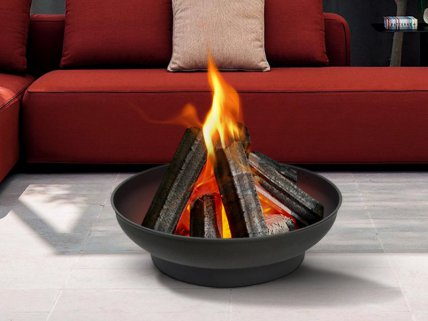 Outdoor Brazier Bowl Fire Pit 56cm