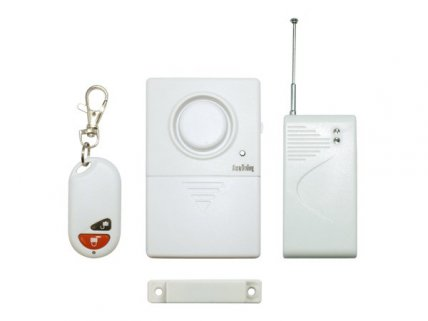 Gate Magnetism Remote Control Wireless Alarm