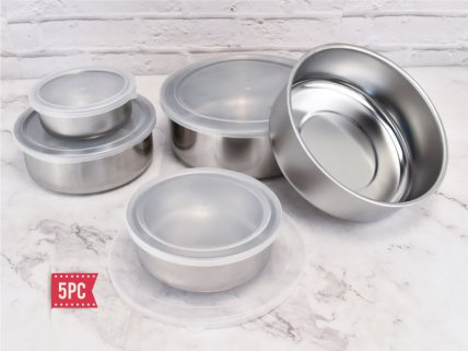5pc Storage Bowl Set incl Lids