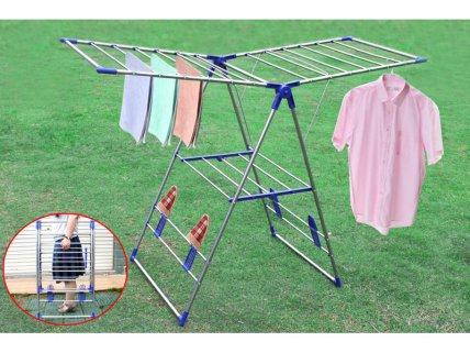 Stainless Steel Foldable Clothes Drying Rack