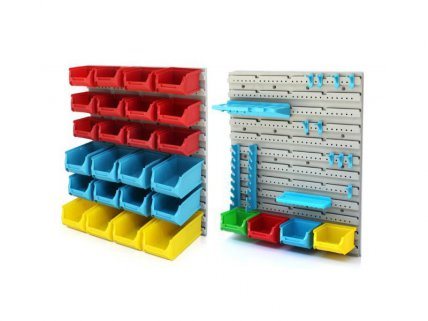 Multifunctional Garage Tool Organiser 44pc