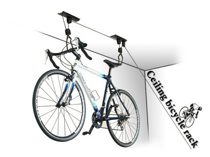 Overhead Storage System for Bikes & Snowboards