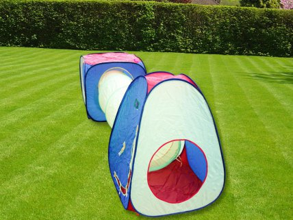 Kids Play Tent Set with Tunnel