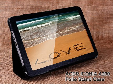 Tablet Leather Case Stand for ACER ICONIA A200