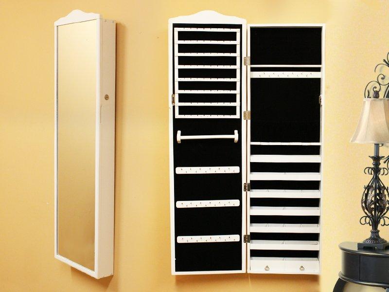 Free Standing Mirror Jewellery Cabinet Nz Skill Floor Interior