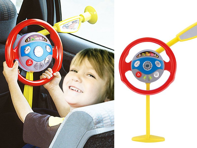 Electronic Toy Steering Wheel