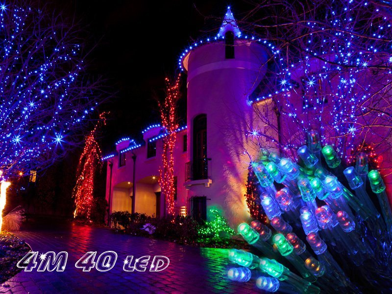 Battery String Lights Nz : 40 LED Battery-operated String Fairy Lights 4M @ Crazy Sales - We have the best daily deals online!