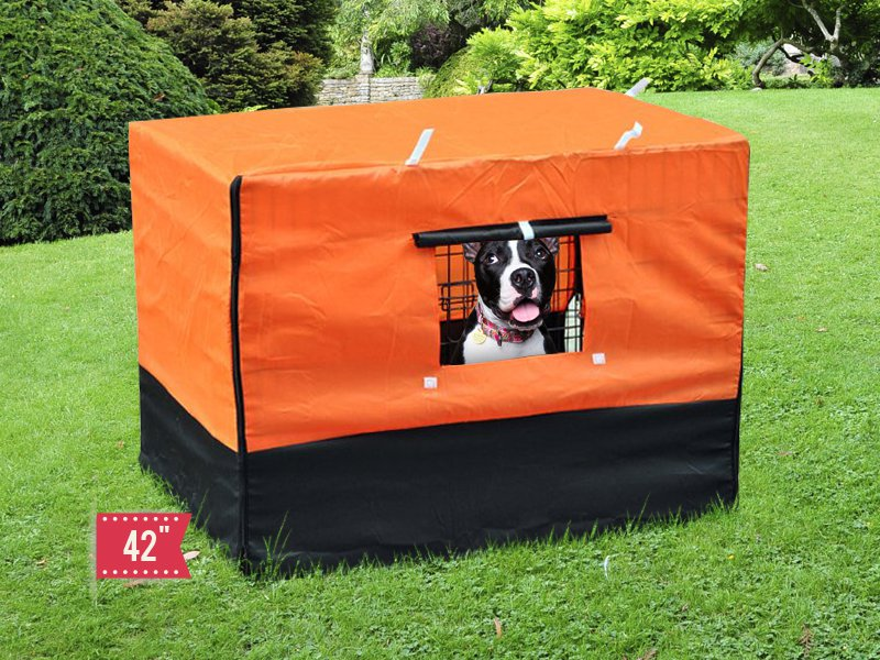 Waterproof Cover for Dog Cage Kennel - XXL 42""