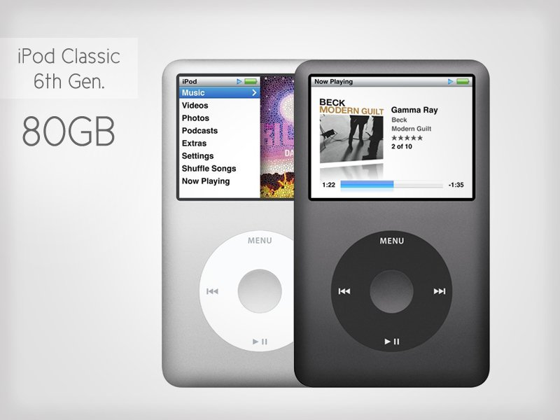 apple ipod classic 6th gen 80gb crazy sales we have. Black Bedroom Furniture Sets. Home Design Ideas