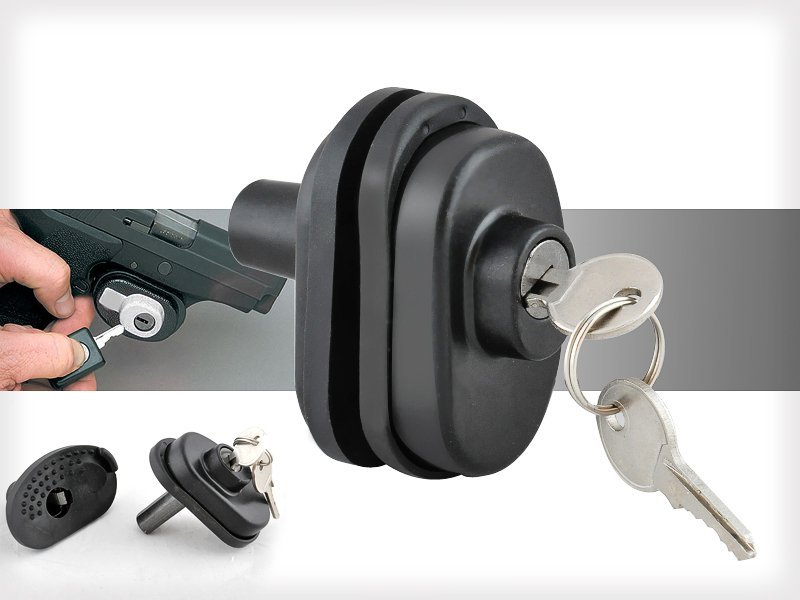 Gun Trigger Lock With Keys