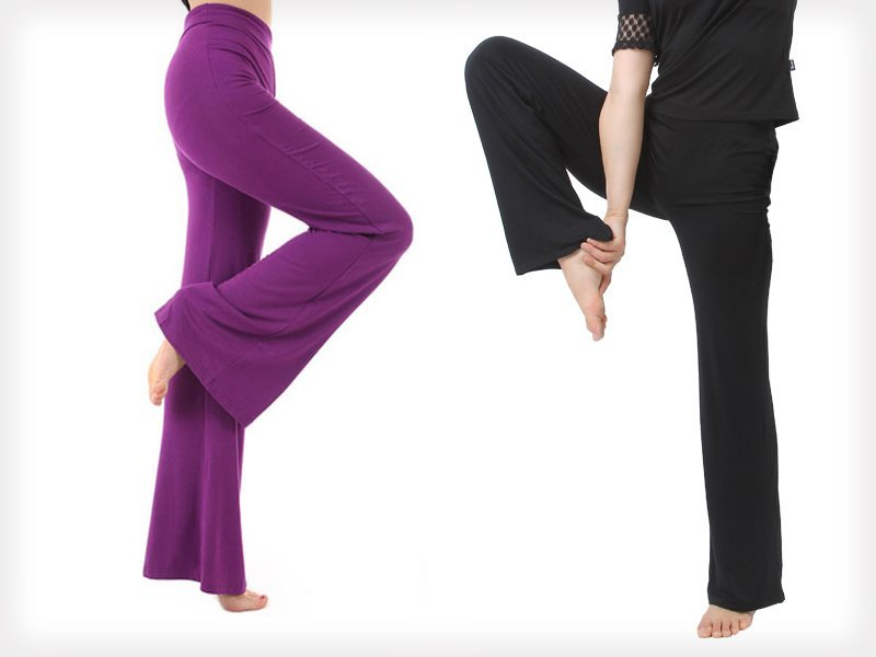 Fitness / Gym Flared Leg Sport Pants