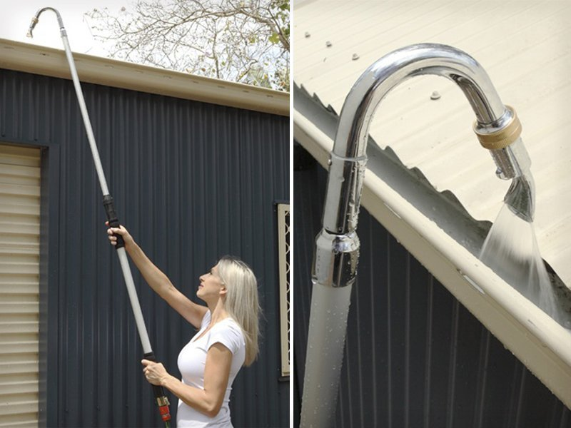 Telescopic Gutter Sprayer Amp Cleaner Crazy Sales We