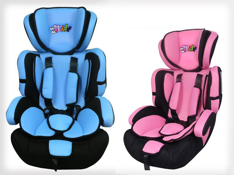 3-in-1 Convertible Safety Car Seat for Kids 9-36kg