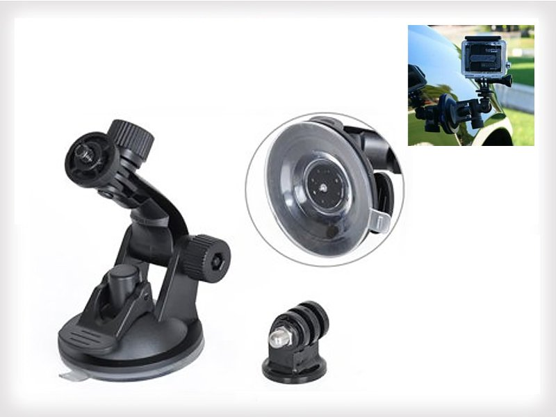 Suction Cup Mount Tripod Adapter for Action Camera