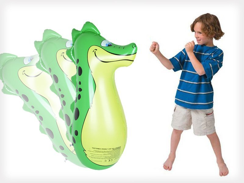 Inflatable Dragon Punching Bag Toy Crazy Sales We Have