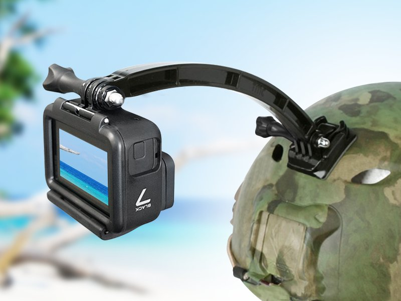 Gopro Hero Camera Helmet Holder