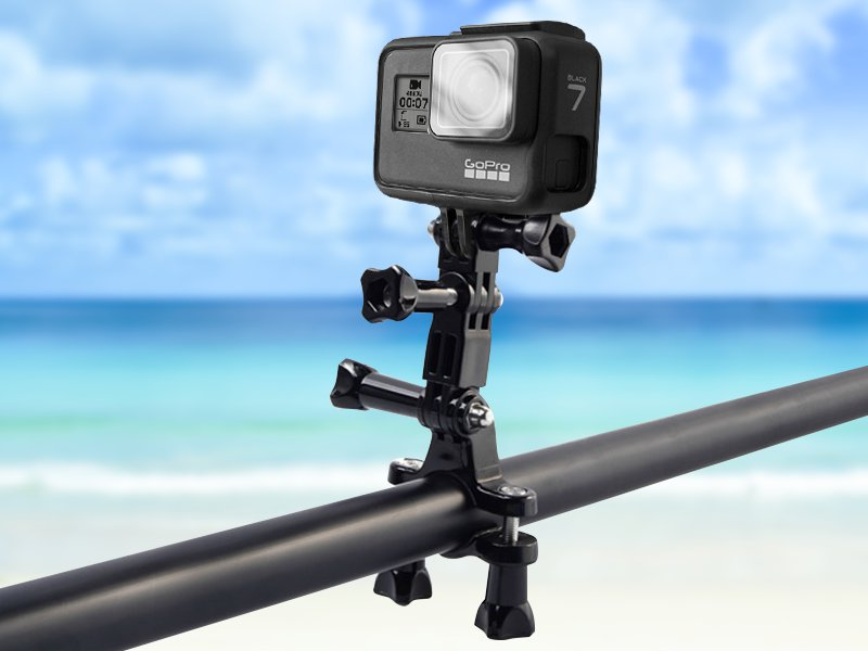 Adjustable GoPro Bicycle Stand